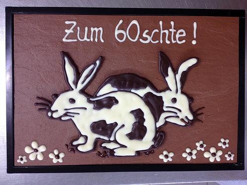 Schokoladen Schaustücke 60.-