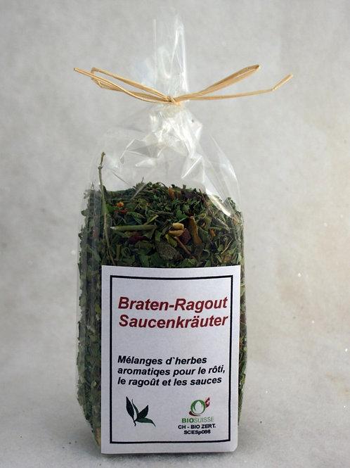 Braten-Ragout Saucenkräuter