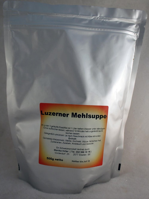 Luzerner Mehlsuppe