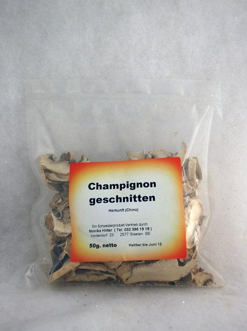 Champignon Geschnitten