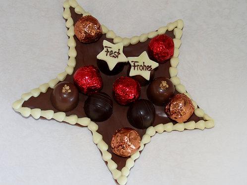 Schokoladen-Stern 12