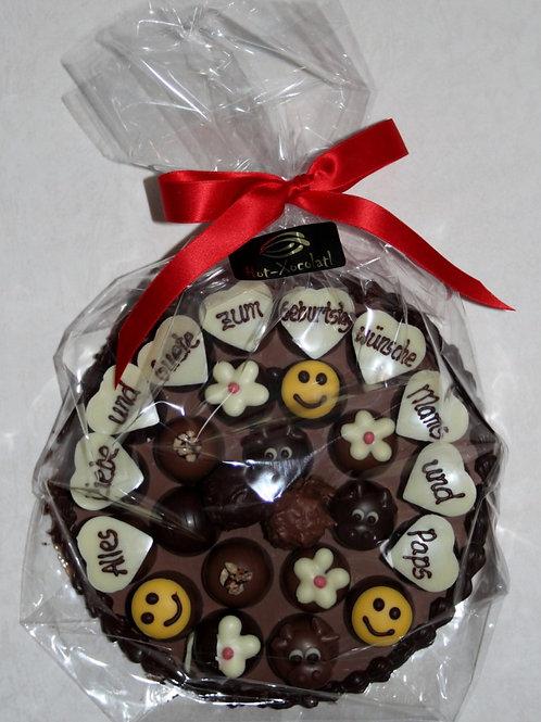 Schokoladen Rondelle 25