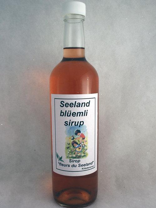 Seelandblüemli Sirup