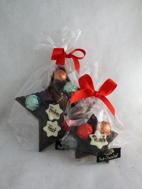 Schokoladen-Stern 3