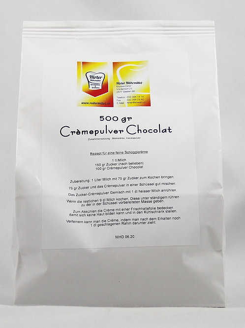 Crèmepulver Chocolat