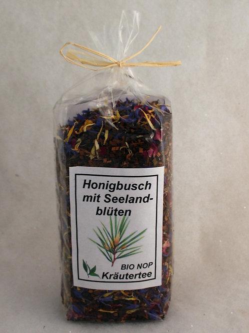 Honigbusch mit Seelandblüten Tee