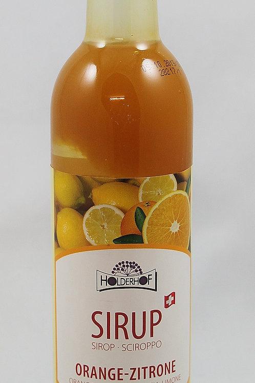 Orange-Zitrone Sirup