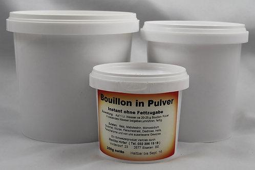 Bouillon in Pulver