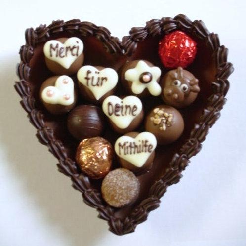 Schokoladen-Herz 12