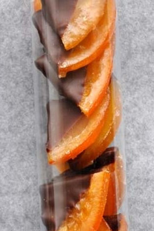 Orangen Ecken