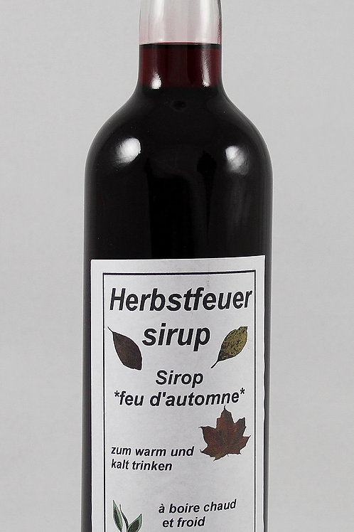 Herbstfeuer Sirup
