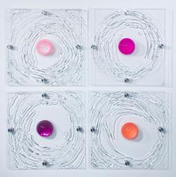Ripples in Pinks gallery lightng