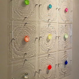 7. Ripple Effect collection on a grey wall at Chase Edwards Fine Art.jpeg