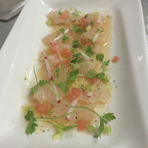 Snapper Ceviche with Mixed Winter Citrus