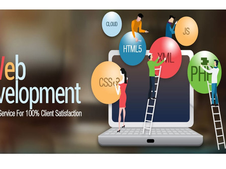 Different tools in online business marketing: website development and others