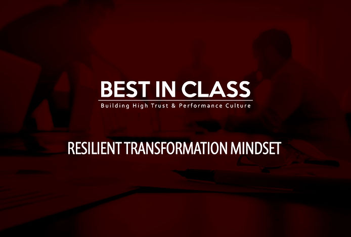 REST-Resilient Transformation Mindset -0