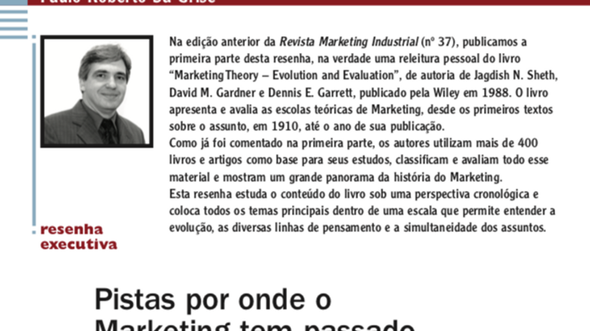 A Evolução do Marketing - parte 2