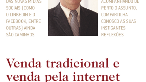 Como Venda Pessoal e Venda pela Internet Andam Juntas