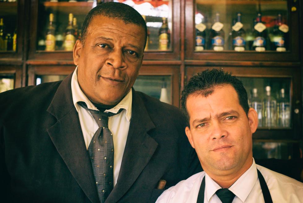 Bar staff, Havana