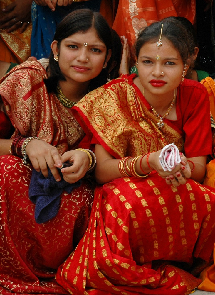 Young women, India