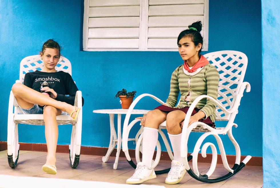 Vinales girls Cuba
