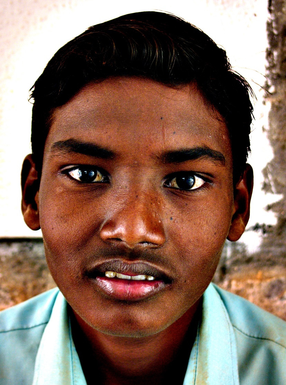 Young man, India