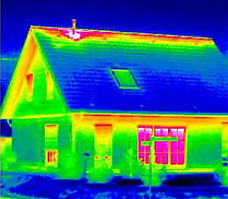 Infrared Photo of a Home