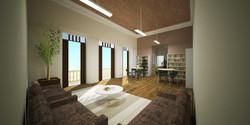 Vista Foyer Biblioteca
