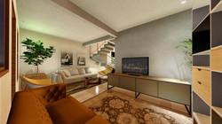 Vista Sala de Estar Casa 02