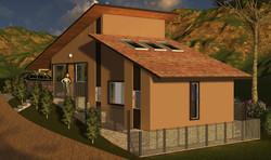 Ilustração da Vista lateral