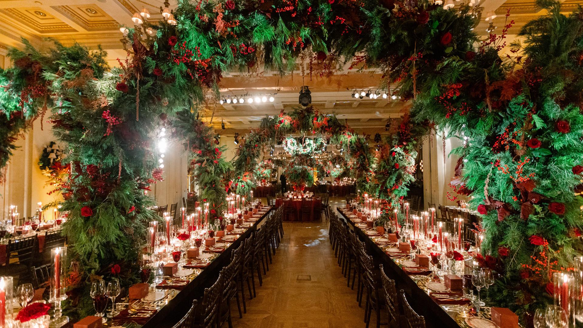 Christmas forest decoration.JPG