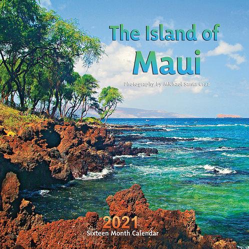 Island of Maui 2021 Calendar