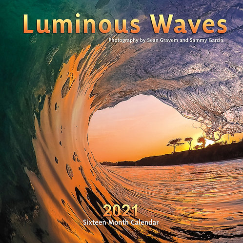 Luminous Waves 2021 Calendar