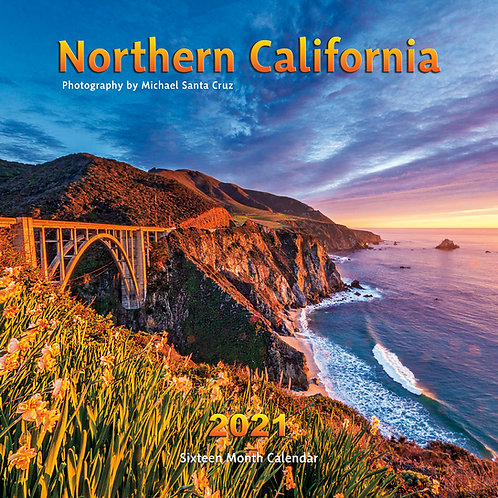 Northern California 2021 Calendar