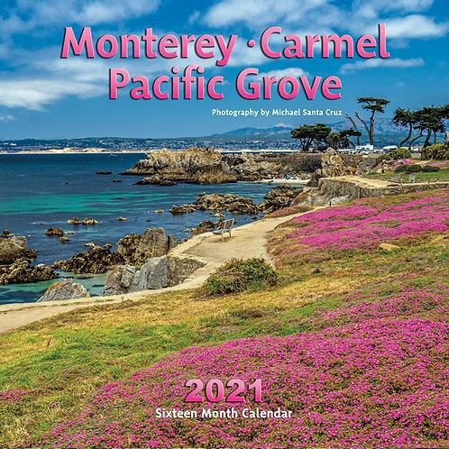 Monterey, Carmel, Pacific Grove 2021 Calendar