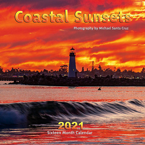 Coastal Sunsets 2021 Calendar