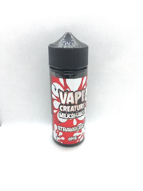 Strawberry Milkshake 100ml 0mg (70/30)