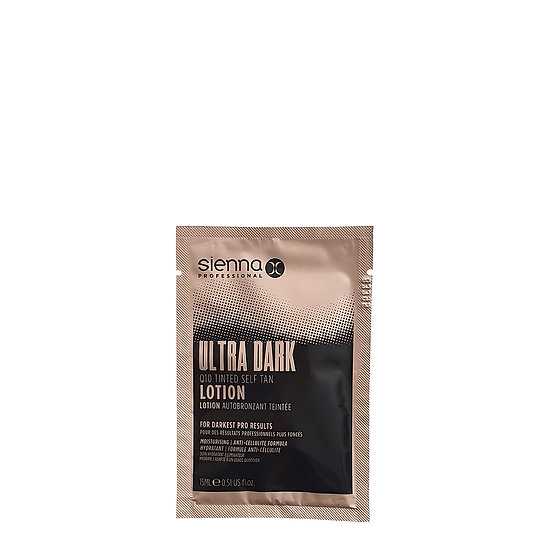 Ultra Dark Q10 Tinted Self Tan Lotion Sachet (15ML)