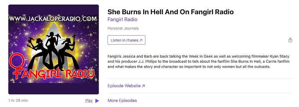 She Burns in Hell Interview on Fangirl R