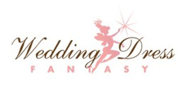 Wedding Dress Fantasy logo white from we