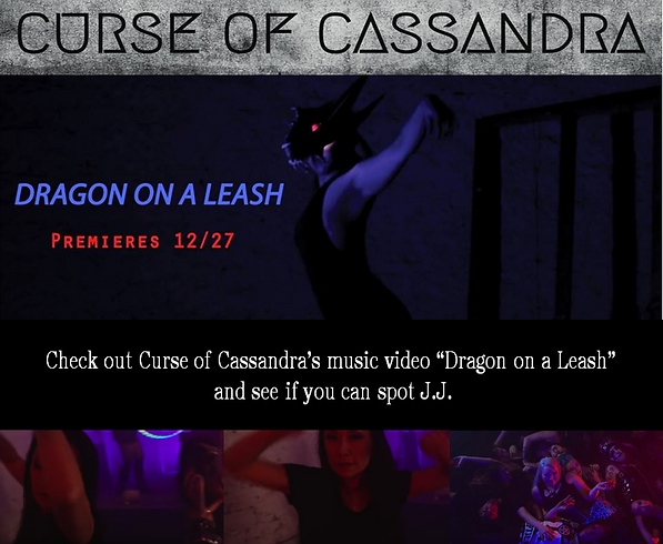 Curse of Cassandra Dragon on a leash Soc