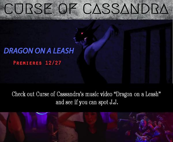 Curse of Cassandra Dragon on a leash Soc