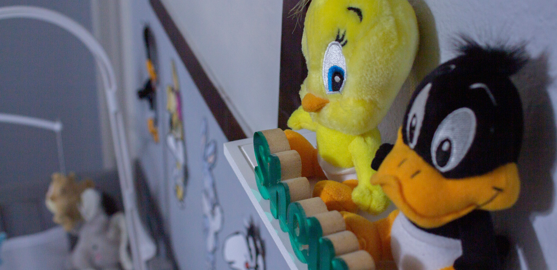 Focus on Tweety and Daffy