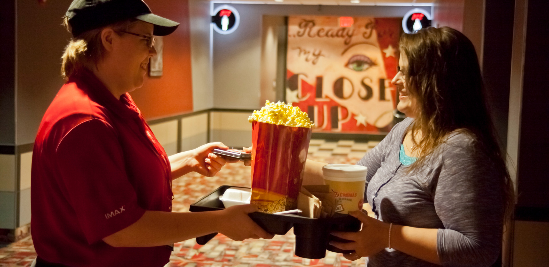 Delivery Service Example for Premiere Cinemas