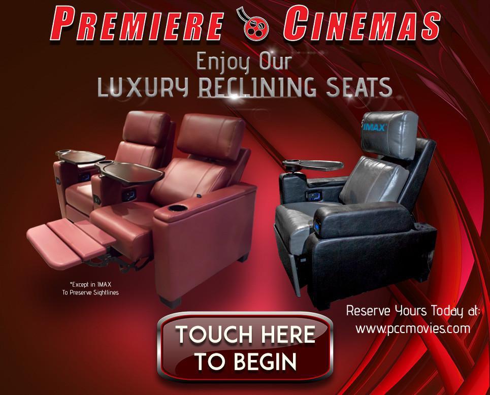 Images Created for Premiere Cinemas Self Serve Kiosk