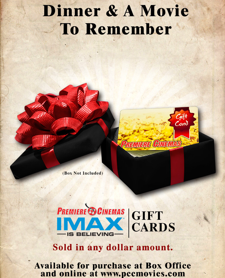 Promo Image for Premiere Cinemas Gift Cards