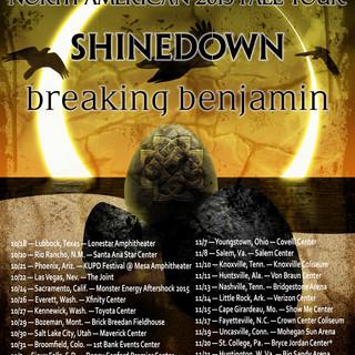 Breaking Benjamin/Shinedown Poster