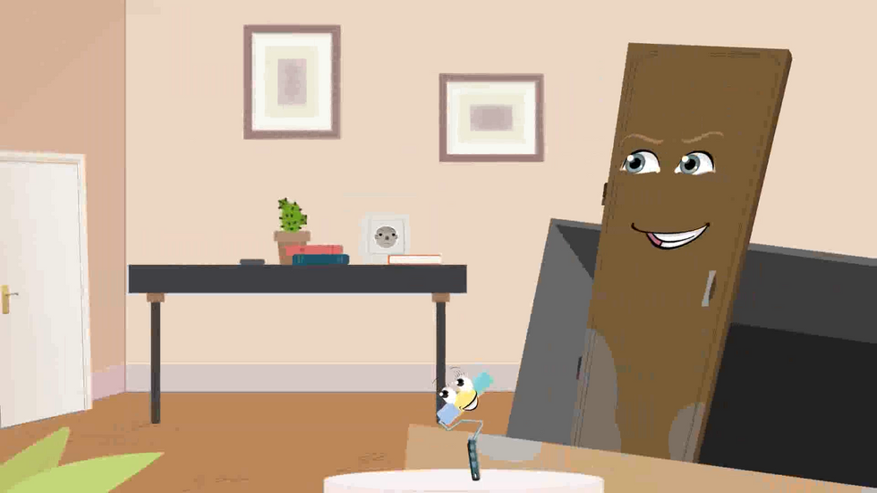 Animated objects conversation - commercial