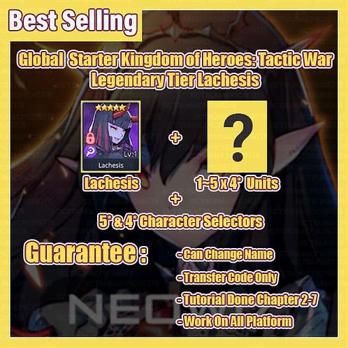 [Global] Starter Kingdom of Heroes Tactic War Account Light & Dark Lachesis