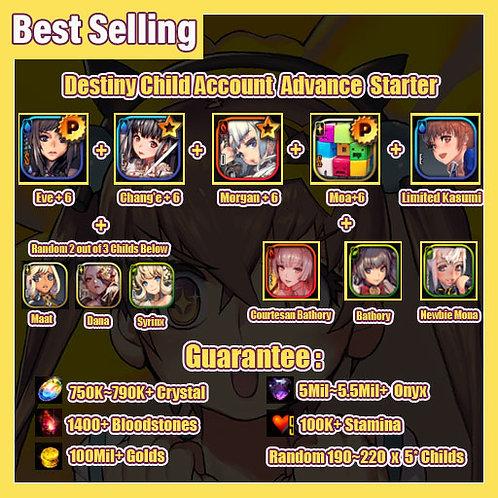 [Global] Starter Destiny Child DC Account Advance Starter